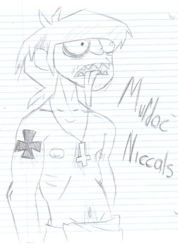 Murdoc Niccals by Capn-x-Chaos