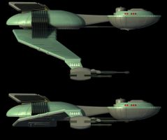 TOS Style Klingon BoP ortho. 2 by lady-die