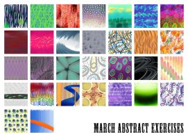 March Abstract Exercises by nangke