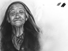 Old Woman by Zansen