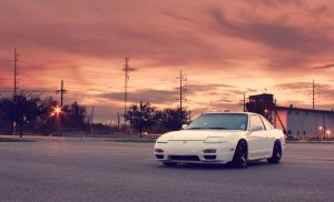 Sunset 240sx by PatrickMcGehee