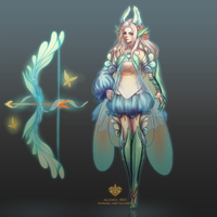 [Fan Skin] Fairy Ashe by Valkymie