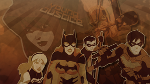 Young Justice Poster Art by Randbaek