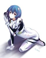 Rei Ayanami by Noa-World