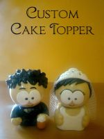 Cake topper by luckymarias