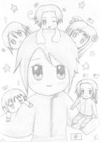 APH: Chibi East Asians by starcandy12