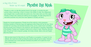 Profile: Phoebe the Mink by BrunoTheFox