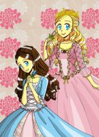Two Princesses by timmyringo