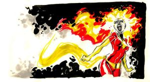Dark Phoenix by mistermoster