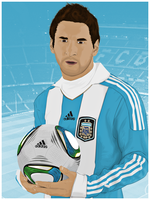 Lionel Andres Messi by murkis8888