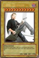 James Hetfield Card by LingLing927