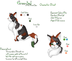 Greentail by StarClan