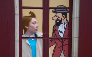 Tintin et Haddock by melle-sucre