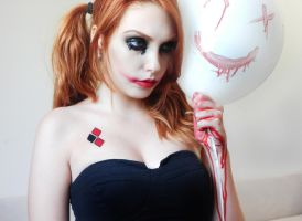 Harley Quinn style by marymakeup