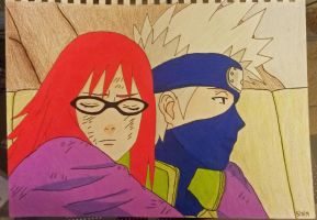 Karin and Kakashi by NovaLynne