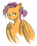 Scootaloo by Docnyaka