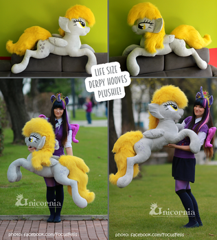 + Life Size Derpy Hooves + by Unicornia-Workshop
