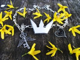 Sora Kingdom Hearts Necklace by IoniaFreak