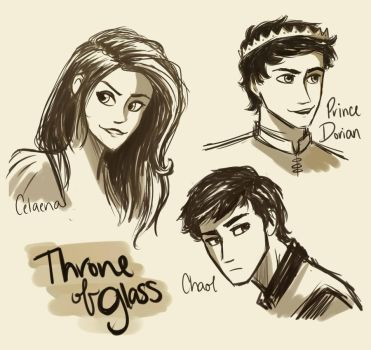 Throne of Glass by compoundbreadd