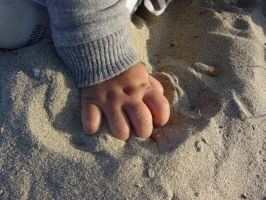hand in the sand by joedurden2k1