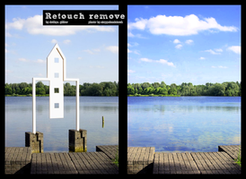 retouch remove .1 by d3bbyeglitter