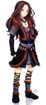 Female Thorin Oakenshield by ibahibut