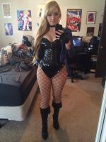 Black Canary Selfie by Pokypandas