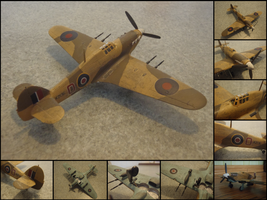 Hawker Hurricane Mk. IIC by WormWoodTheStar