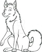 Wolf Ink by Silversnow-wolf