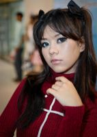 Me as Rin Tohsaka by H-a-Z-y