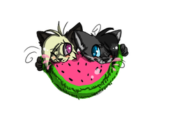 Watermelons. by nevaR-again