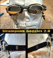Steampunk Goggles 2.0 by OzKid96