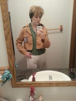 Tekko cosplay- Jean Kirstein reporting for duty!~ by ChibiYaoiPro