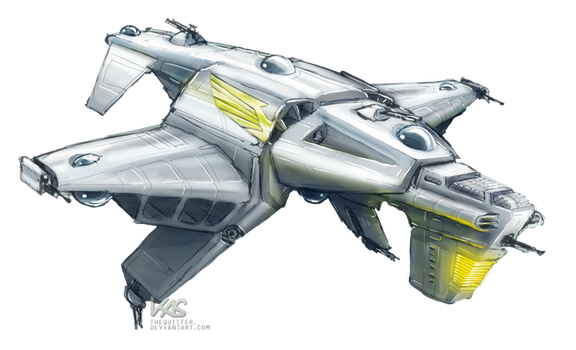 NOVA: Imperial Apocalypse-Type Bomber by TheQuitter