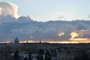 Rome by Cloud by branev
