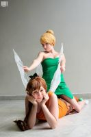 Fawn and Tinkerbell by Mitsuko-Vicious