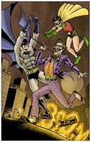 Batman Robin and Joker by RamonVillalobos