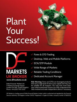 DF Markets - Print Ad for E-Forex Magazine by Jambazov