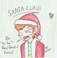 Santa 'Claus' by Mister-Saturn