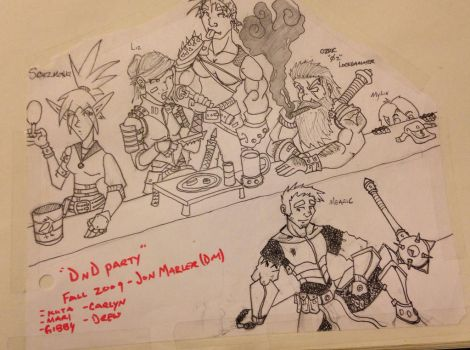 DnD Party by Hammerthane