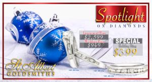 Jeweller Newspaper Ad by SmithByDesign