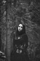 Gothic portrait by Katherine-Klud