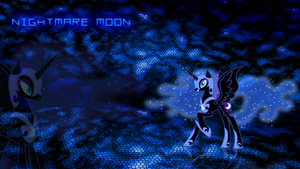 Nightmare Moon wallpaper by JamesG2498