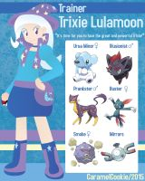 My Little Pokemon Trainer - Trixie Lulamoon by CaramelCookie
