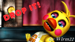 [MMD FNAF] ToyChica - Drop it! - Smashing! by Wirm22