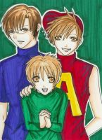 Alvin and the Chipmunks Humans by kawaiibabyheero