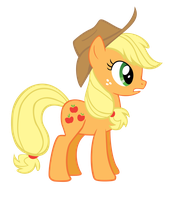 Very First Applejack by isaacmorris