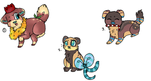 christmas adopts (5 points each) by yoshll