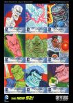 DC Comics New 52 Sketch Cards for Cryptozoic Ent. by DeJarnette