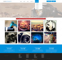 {For Sale} Photography Website PSD by katosarts